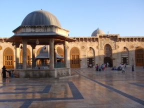 The Grand Mosque in Aleppo and the bazaar that abuts it have sustained significant damage.